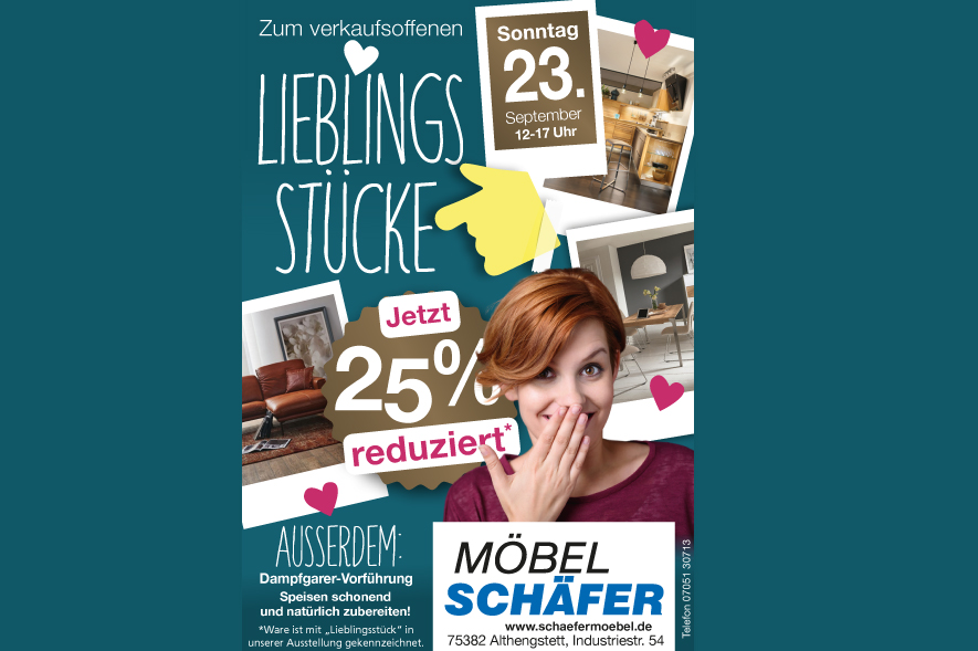 Verkaufsoffener Sonntag Am 23092018 Möbel Schäfer Gmbh Althengstett